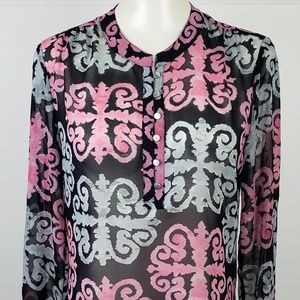 Banana Republic Top size 4 Milly Collection Pink